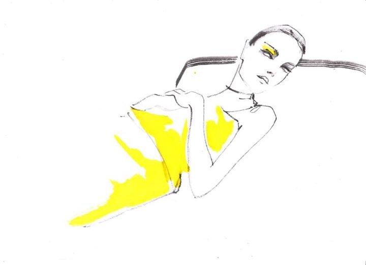 Modes ilustrāciju kursi/ Fashion illustration courses cover