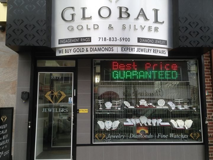 Global Gold & Silver Jewelers cover