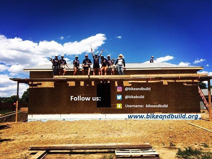 Bike & Build cover