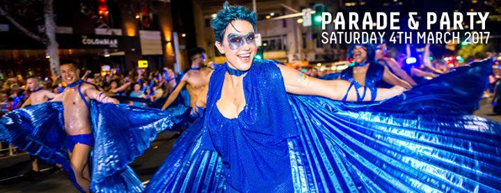 Sydney Gay and Lesbian Mardi Gras cover