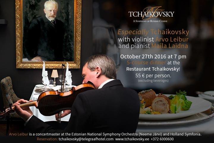 Restaurant Tchaikovsky cover