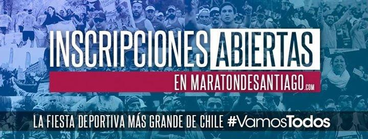 Maratón de Santiago cover