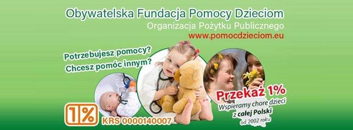 Obywatelska Fundacja Pomocy Dzieciom cover