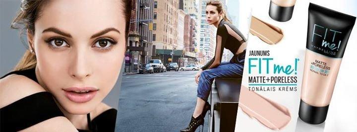 Maybelline New York Latvia cover