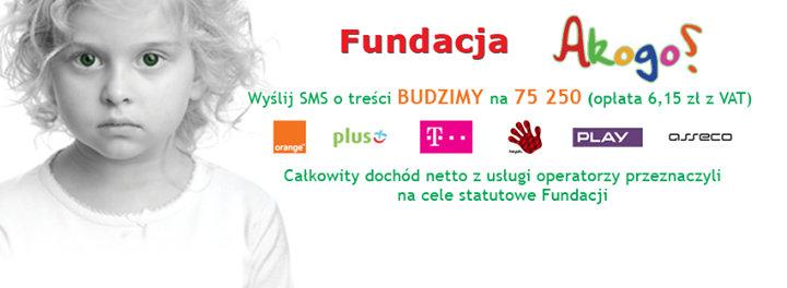 """Fundacja Ewy Błaszczyk """"Akogo?"""" cover"""