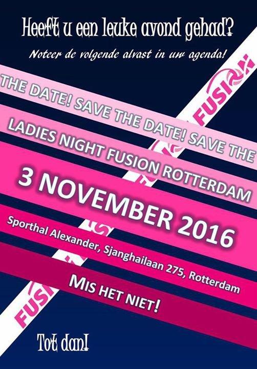 Ladies Night Fusion Rotterdam cover