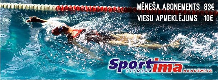 """Fitnesa Akademija """"Sportima"""" cover"""