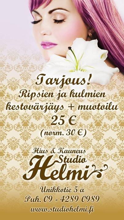 Hius & Kauneus Studio Helmi cover