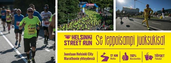 Helsinki Street Run cover
