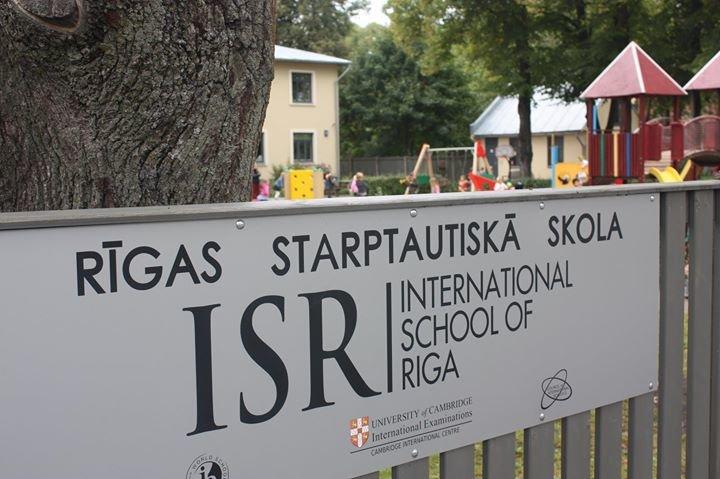 International School of Riga cover