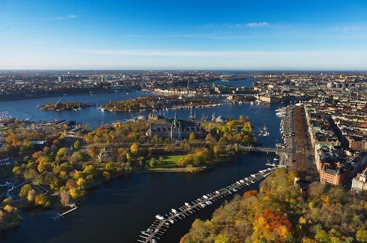Visit Stockholm cover