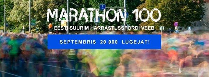 Marathon100 cover