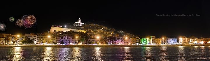 Ibiza by night cover