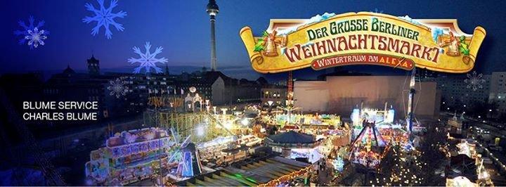 Der Große Berliner Weihnachtsmarkt - Wintertraum am Alexa cover