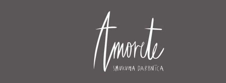 Amorete smukuma darbnīca cover