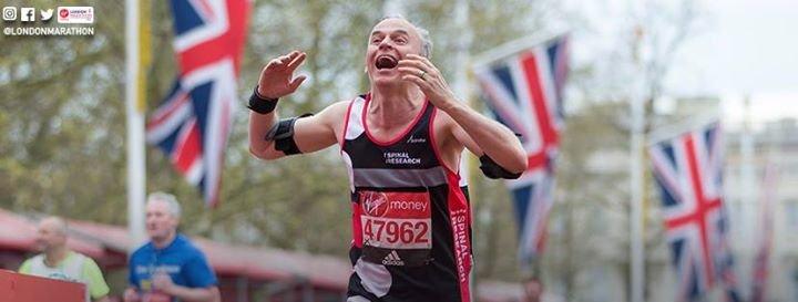 London Marathon cover