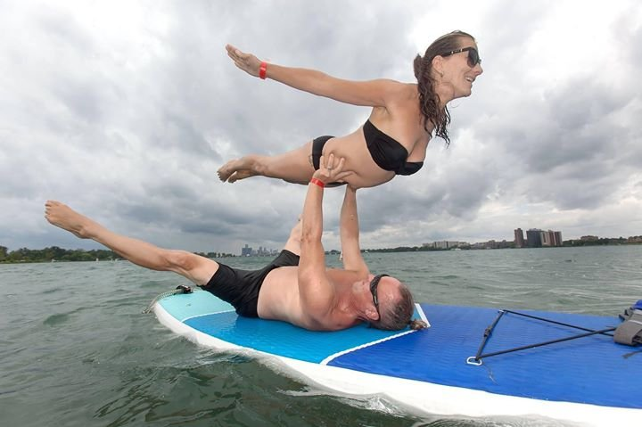 SUP AcroYoga cover