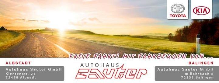 Autohaus Sauter  /  Kia und Toyota cover