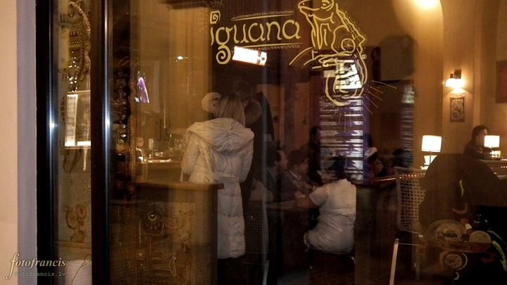 Iguana Restaurant cover