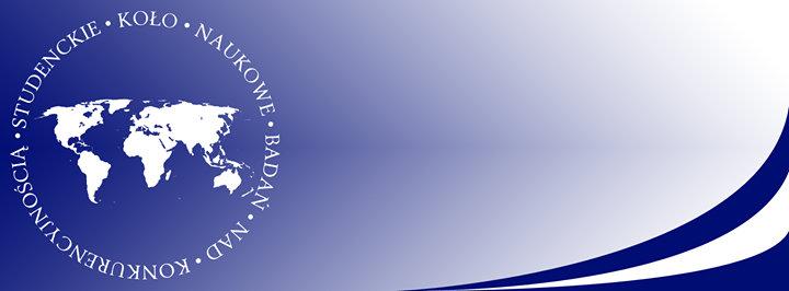Studenckie Koło Naukowe Badań nad Konkurencyjnością cover