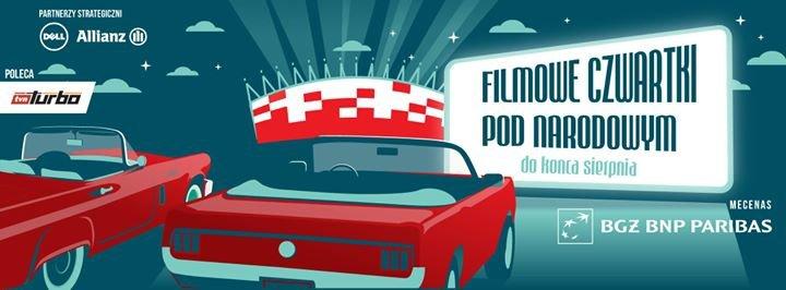 Kino samochodowe pod Narodowym cover