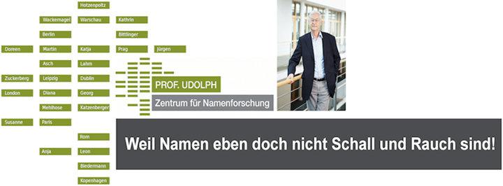 Prof. Udolph - Zentrum für Namenforschung cover
