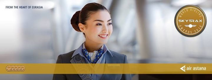 Air Astana International cover