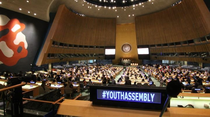 The Youth Assembly at the United Nations cover
