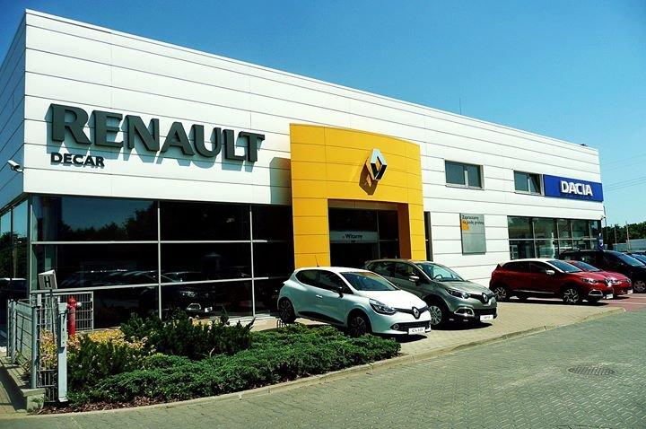 DECAR Koncesjoner Renault / Dacia cover