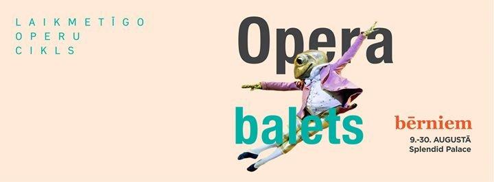 LULU laikmetīgo operu cikls cover