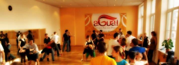 Agua!  Latvia Salsa Pearls cover
