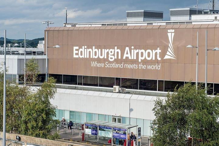 Edinburgh Airport cover