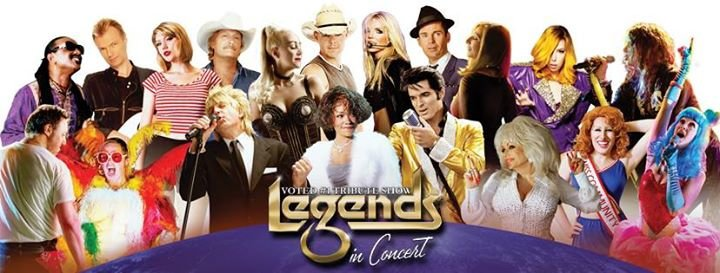 Legends In Concert Theater Myrtle Beach cover