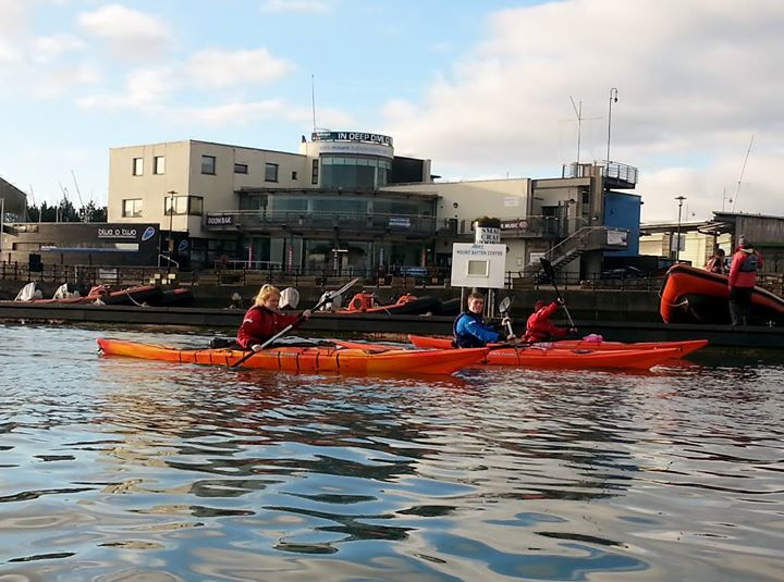 Kayaking and Stand up Paddleboarding in Plymouth cover