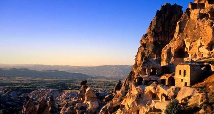 Uchisar Area, Cappadocia, Turkey  № 1427757 бесплатно