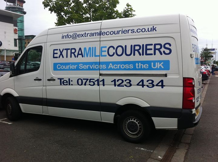 Extra Mile Couriers cover