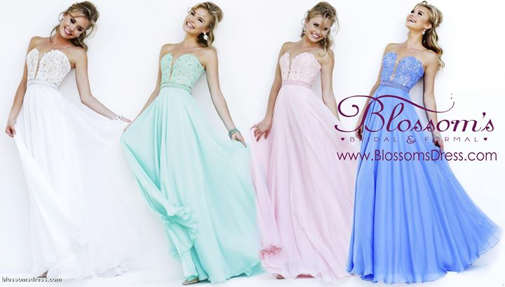 Blossoms Formal & Bridal, SF Bay Area Prom and Wedding Dress Store ...