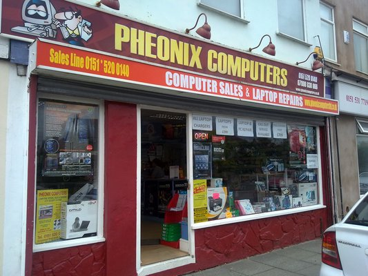 Phoenix Computers maghull cover
