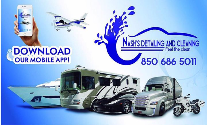 Nash's Detailing and Cleaning,LLC. cover