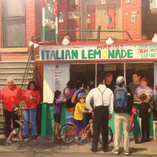 Mario's Italian Lemonade cover