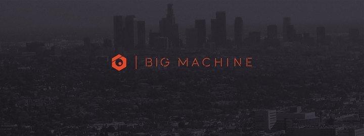 BIG MACHINE cover