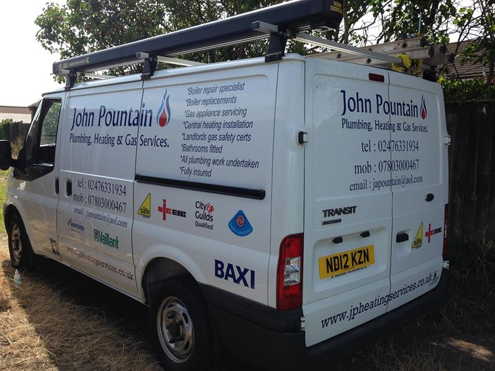 John Pountain Plumbing, Heating & Gas Services cover