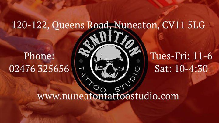 Rendition Tattoo-Studio Nuneaton cover