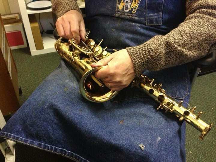 Graham de Vere White - Woodwind and Brass Instrument Repairs cover