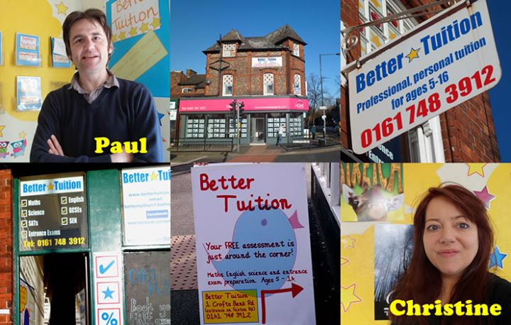 Better Tuition: Urmston's Independent Tuition Centre cover
