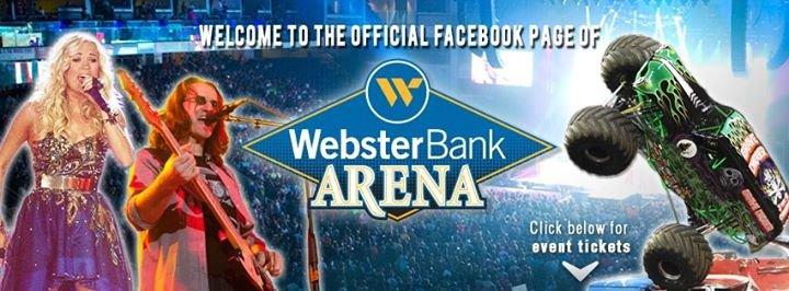 Webster Bank Arena cover