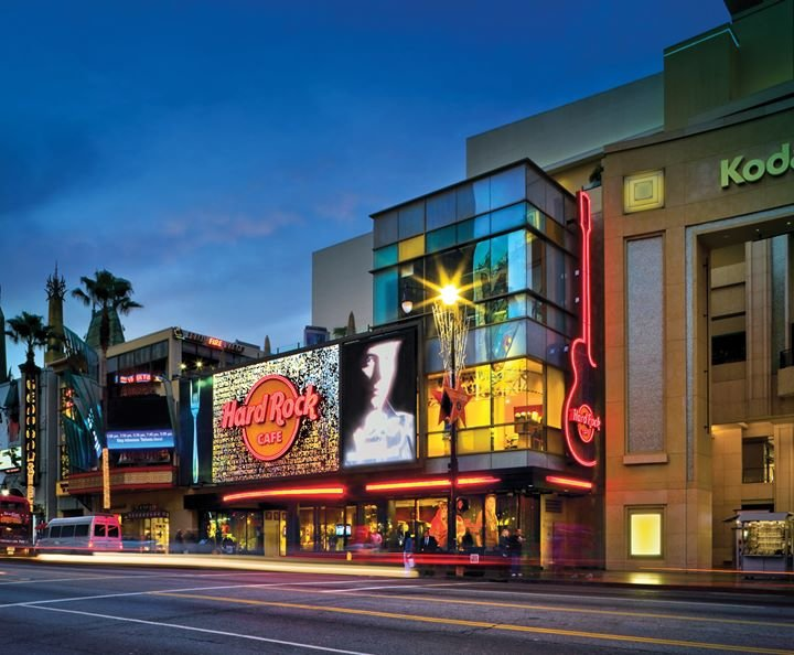 Hard Rock Cafe Hollywood on Hollywood Blvd. cover