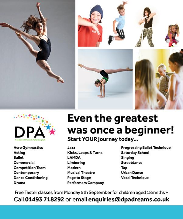 DPA Academy of Dance & Performing Arts cover