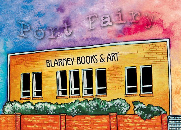 BLARNEY BOOKS & ART cover