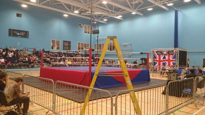 UK Wrestling (UKW) cover